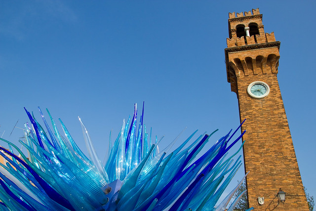 Murano's public glass artwork