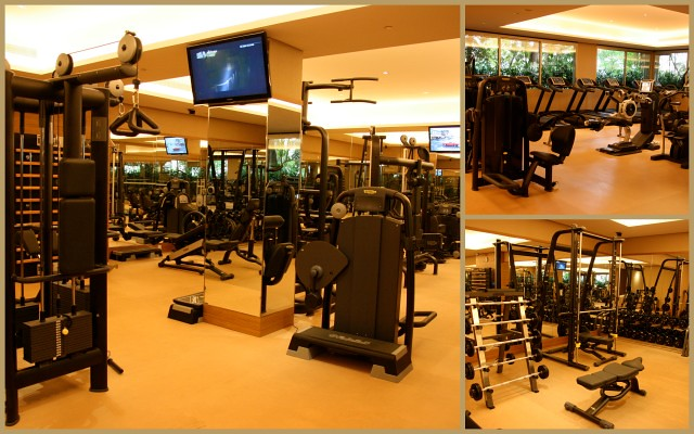 Gym at Hotel Fort Canning