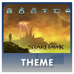 Starhawk for PS3: Limited Edition Theme