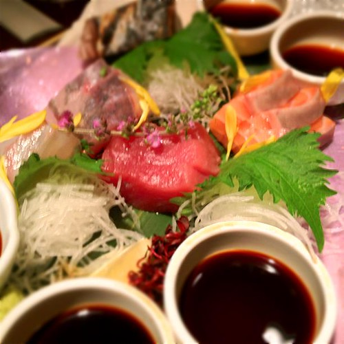 刺身 at #りゅうぼん_茶屋町店 http://t.co/C4RvOIoO