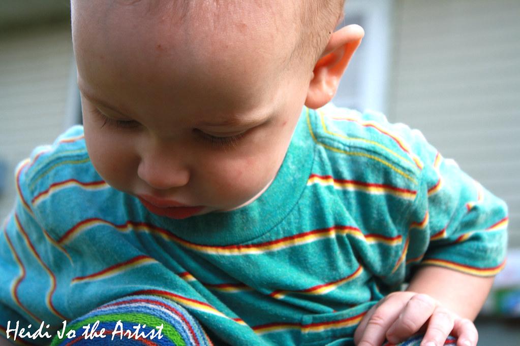 Baby Boy Dashiell Close-Up