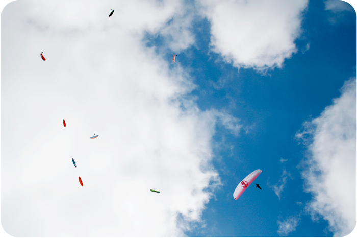 {Paragliders}