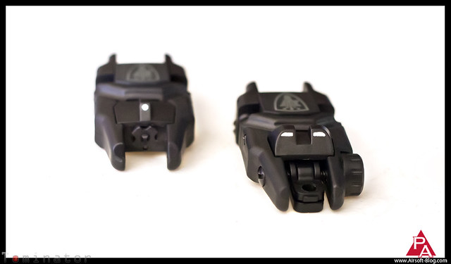 Elite Force Flip-Up Sights, Elite Force Airsoft BBs, Magpul MBUS Sights, Magpul Back-Up Sights, CrazyNCman, Pyramyd Airsoft Blog, Pyramyd Air, Tominator, Tom Harris Media,