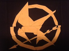 Second Hunger Games Quilt Block