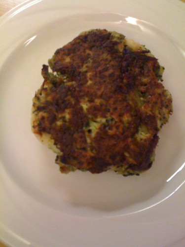 broccoli fritter