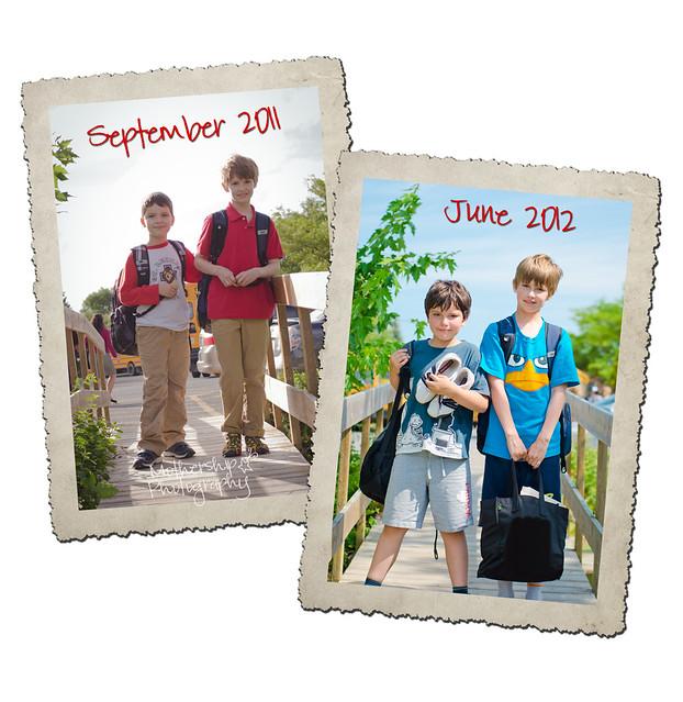 开学的第一天和最后一天2011-2012