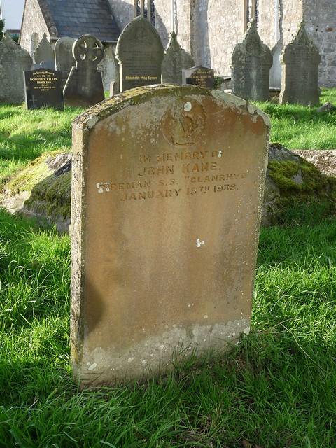 11725 - Glanrhyd Shipwreck Grave, Port Eynon