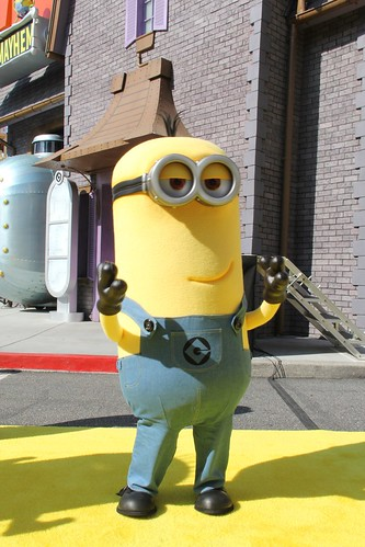 Despicable Me: Minion Mayhem grand opening
