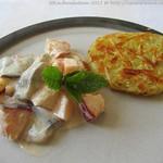 ©Matjessalat süß-sauer mit Rösti