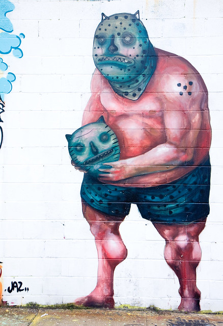 JAZ, Welling Court Mural Project, 2012