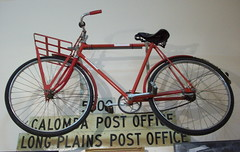 Postal delivery bicycle