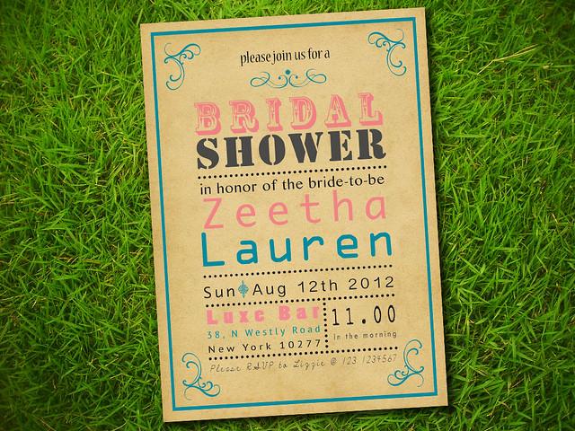 Invitation For Bridal Shower was best invitation ideas
