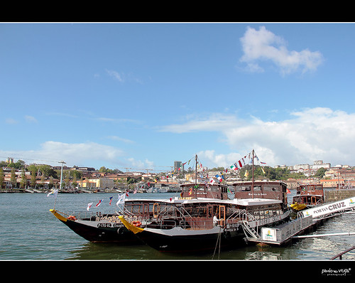 Porto-Barcos-Rabelos by Paulo Veiga Photo
