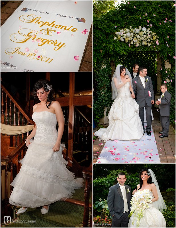 Bridal Styles bride Stephanie, photo - Sherwood Triart Photography
