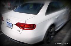 audi s8(0.0), city car(0.0), automobile(1.0), automotive exterior(1.0), audi(1.0), executive car(1.0), family car(1.0), wheel(1.0), vehicle(1.0), automotive design(1.0), rim(1.0), audi a4(1.0), bumper(1.0), sedan(1.0), land vehicle(1.0), luxury vehicle(1.0), vehicle registration plate(1.0),