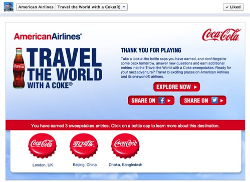 My Answers to an American Airlines Facebook promo
