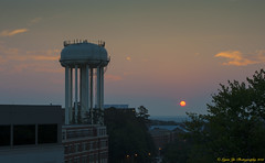 Sunrise at UNC Chapel Hill  Today at 6:22:11am (07/18/2012)