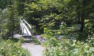 Brücke zur Rappinschlucht