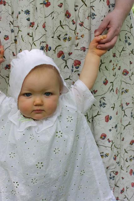 Costume rococo pour bébé