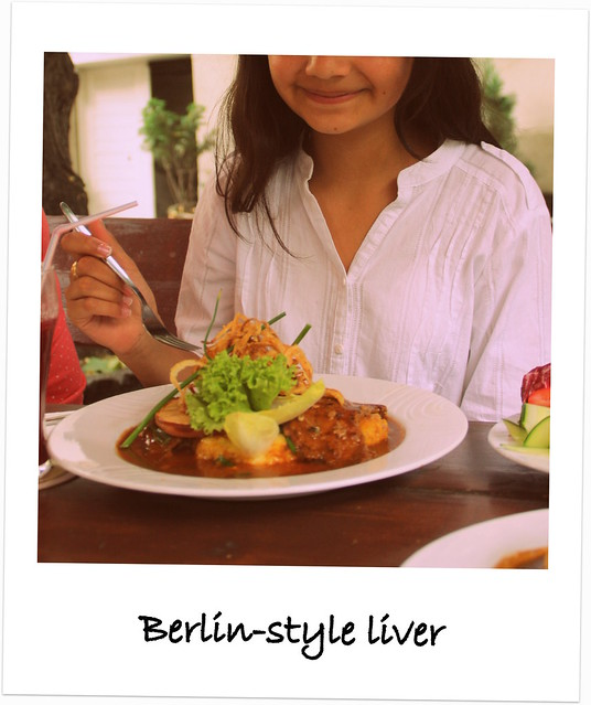 Berlin-style liver