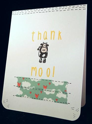 Thank Moo!