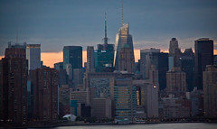 Midtown NYC Skyline Viewed from the Wythe Hotel Rooftop - Brooklyn