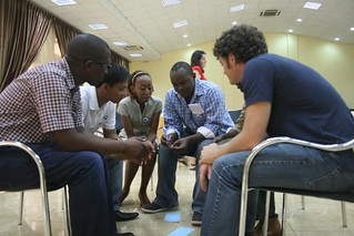 Participants at the Mentoring Workshop in Kigali, 2011