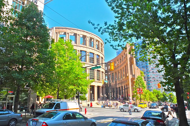 Vancouver Public Library | Robson Street, Vancouver