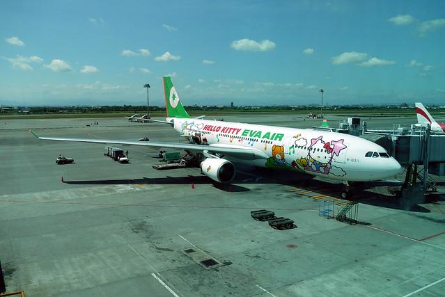 台北飛往仙台的Kitty機