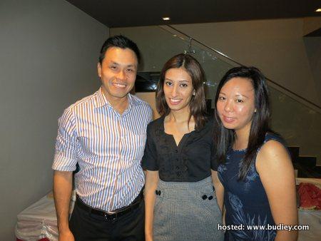 Raymond Liew, Naseem Randhewa, Elaine Wong