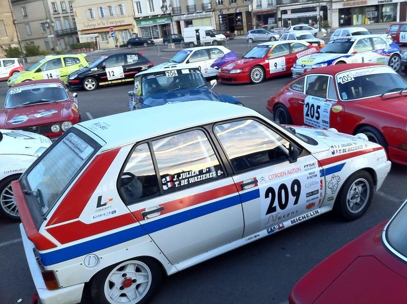 Rallye d'Autun 2012