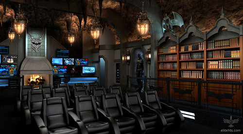 LUXURY HOME: Dark Knight themed custom home theater for $2 million