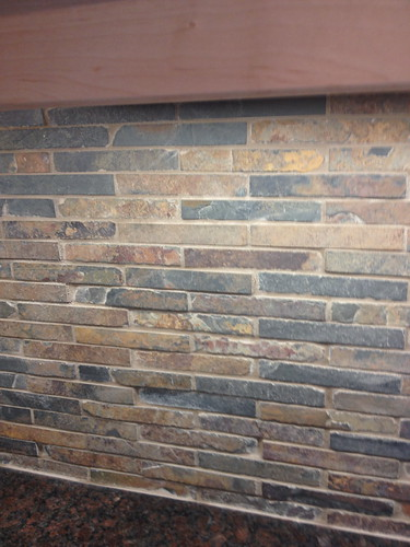 Grouted tiles