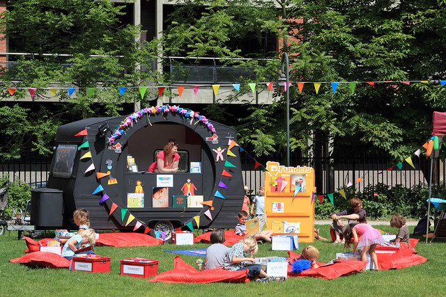 Picknick in het park leven in leuven - Gezellig synoniem ...