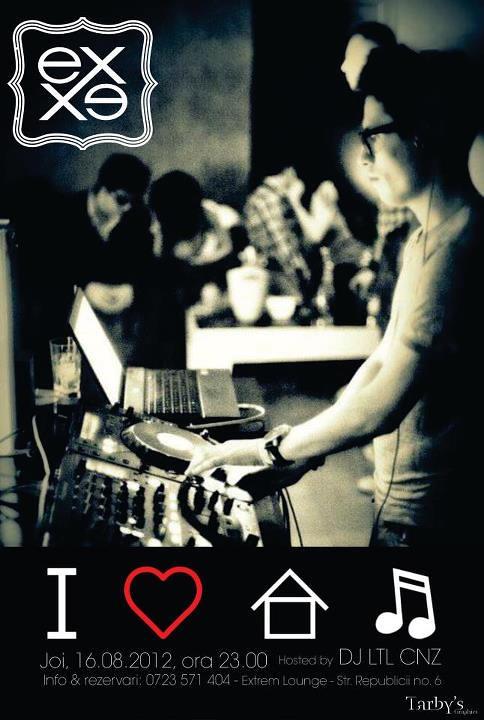 I love house music ex lounge evenimente focsani for Lounge house music