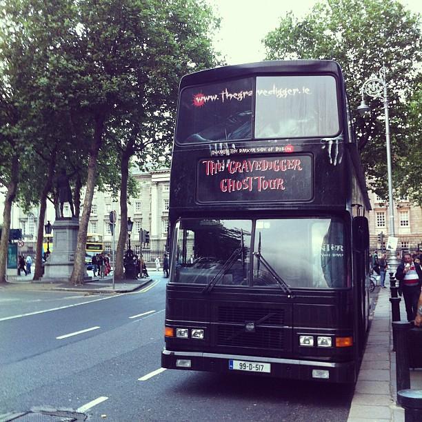 Gravedigger Ghost Bus Tour Dublin Review