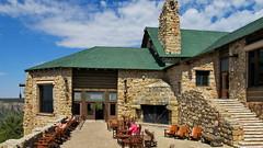 Grand Canyon Lodge - main patio - North Rim