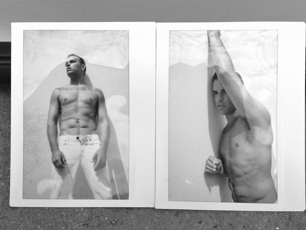 Polaroids of Josh: Available Light