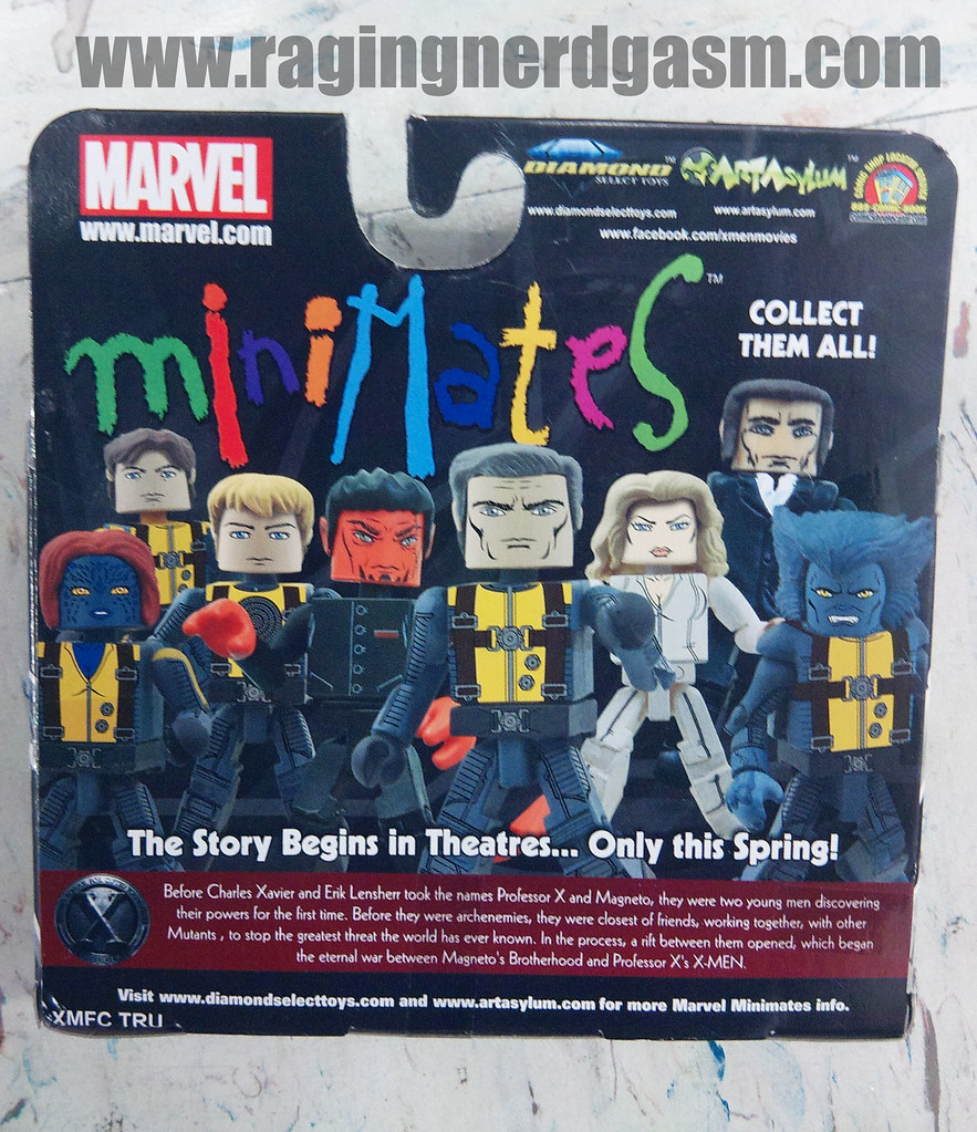 MiniMates X-Men Origins