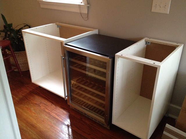 Pouring our efforts into finding a wine fridge old town home What can i put on my sideboard