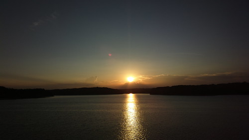 Sunset at Sayama lake