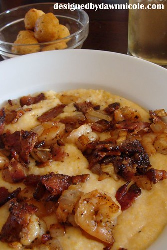 Justin's Awesome Shrimp and Grits