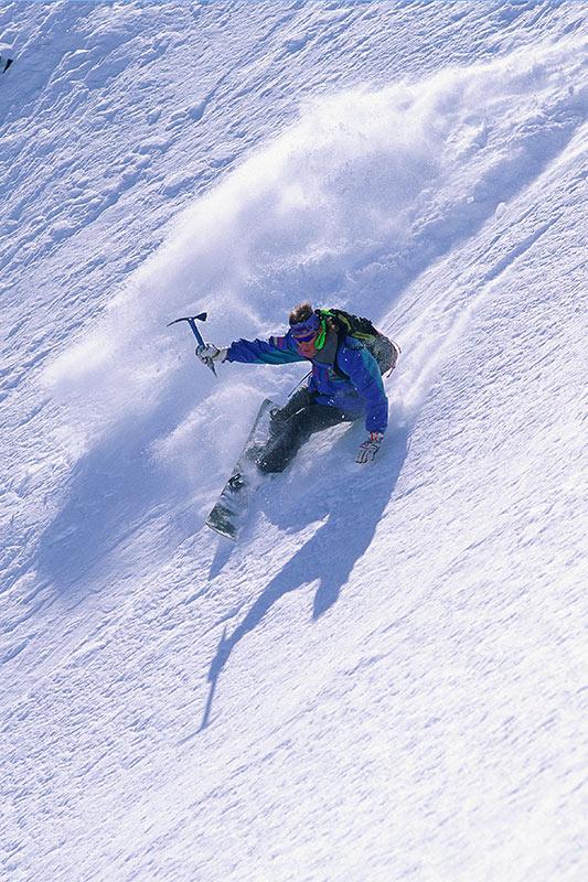 Heli-Snowboarding; Outdoor Recreation in British Columbia, Canada