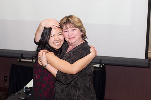 Emi Ohama and Deanna Ries (Apr 3, 2014 Snucins)