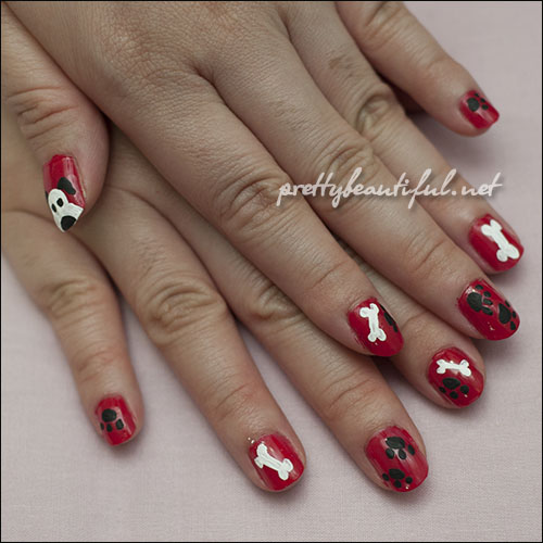 Doggy Nail Art