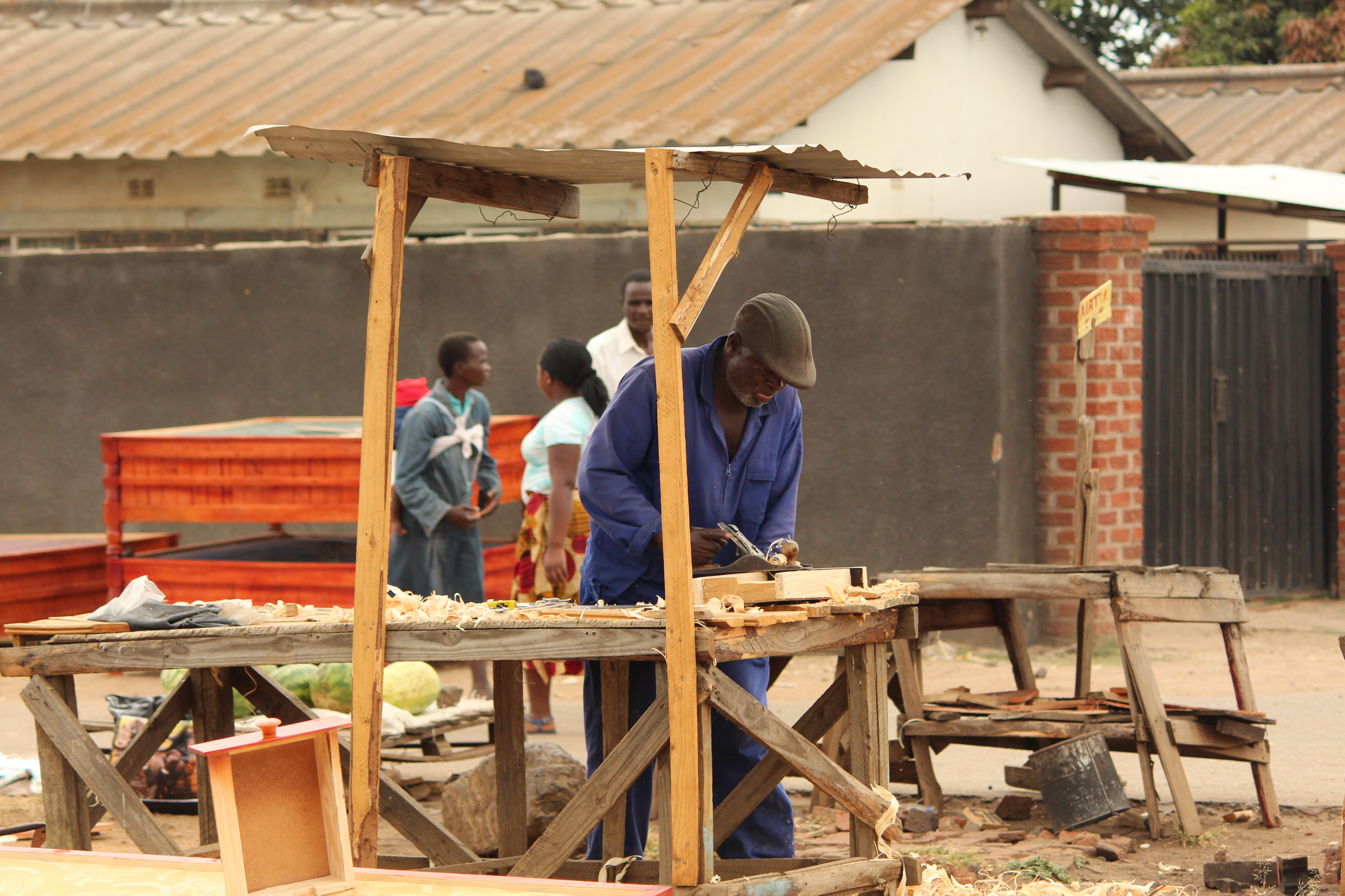 Informal Carpentry Hammers Away Zimbabwe's State Revenue