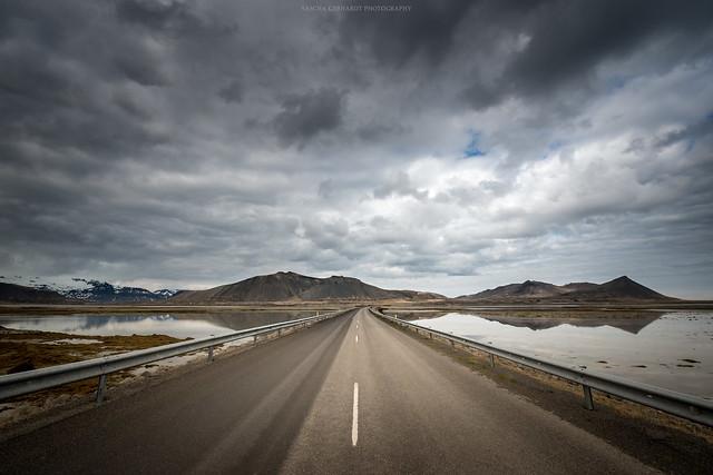 Road to Snæfellsnes Iceland