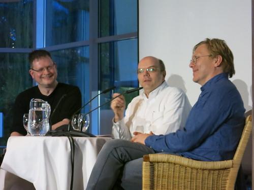 Sprachsalz-Club 1 mit Jón Gnarr, Martin von Arndt und Alexander Kluy