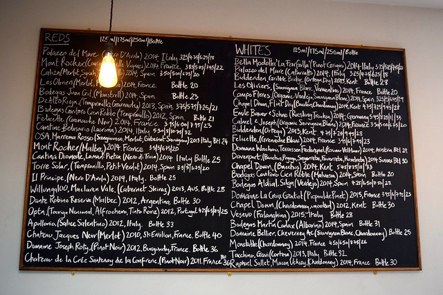 Wine List at Wyatt and Jones, Broadstairs | www.rachelphipps.com @rachelphipps