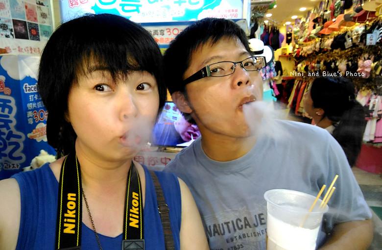 逢甲夜市美食小吃冰飲料韓國白雲餅乾27